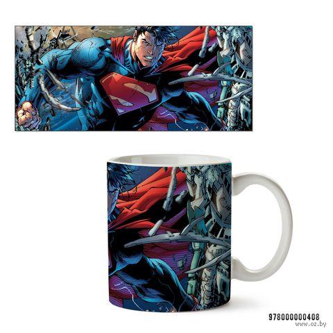 """Кружка """"Супермэн из вселенной DC"""" (арт. 408)"""