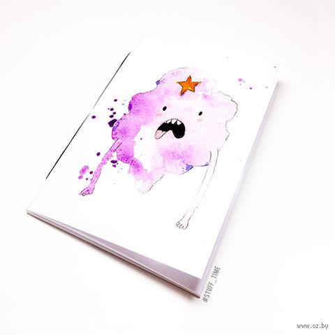 "Блокнот ""Время Приключений. Принцесса Пупырка"" (А5; арт. 287) — фото, картинка"
