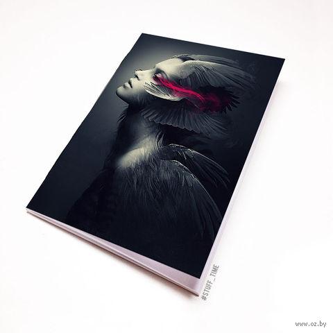 """Блокнот """"Девушка"""" (А5; арт. 975) — фото, картинка"""