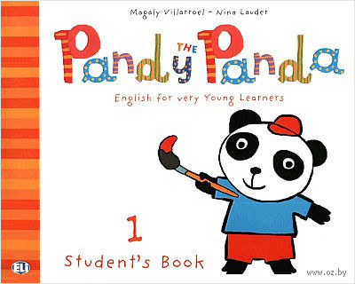 Pandy the Panda: Student's Book 1 (+ CD) — фото, картинка