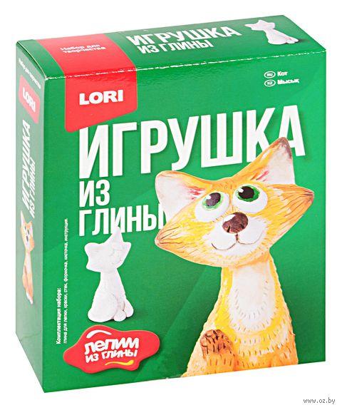 """Набор для лепки из глины """"Кот"""" — фото, картинка"""