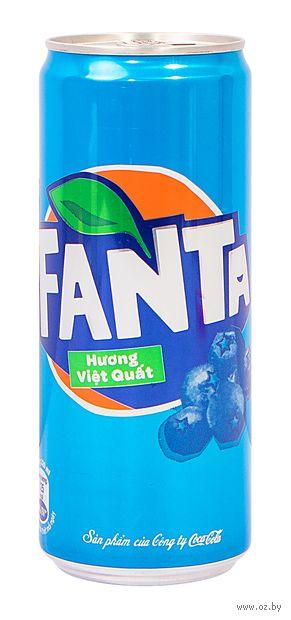 """Напиток газированный """"Fanta. Черника"""" (330 мл) — фото, картинка"""