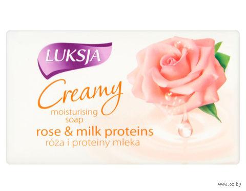 "Мыло ""Creamy. Роза и протеин молока"" (90 г) — фото, картинка"