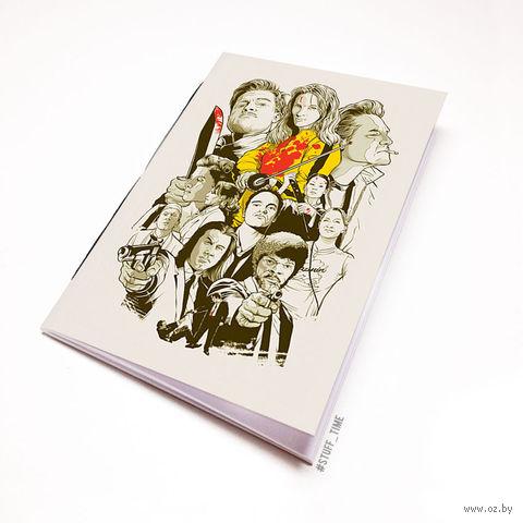 """Блокнот """"Тарантино"""" (А5; арт. 443) — фото, картинка"""