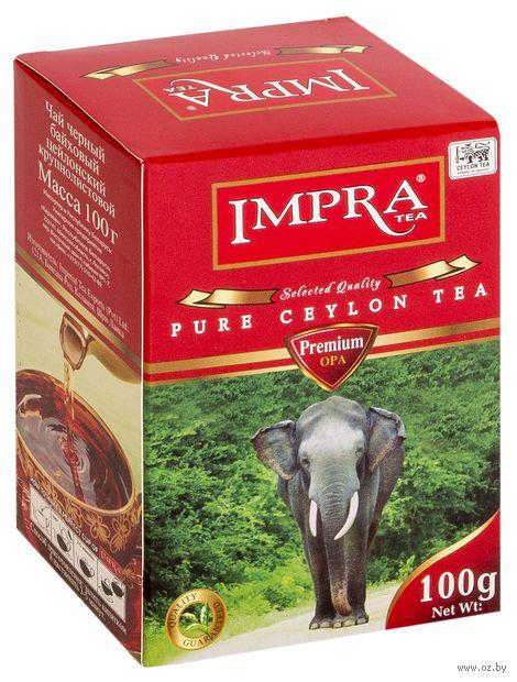 """Чай черный листовой """"Impra. Premium"""" (100 г) — фото, картинка"""