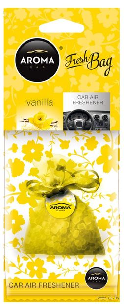 "Ароматизатор подвесной ""Fresh Bag"" (vanilla) — фото, картинка"