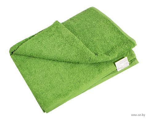 Полотенце махровое (70x140 см; зеленое) — фото, картинка