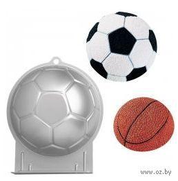 """Форма для выпекания металлическая """"Футбольный мяч"""" (220 мм)"""