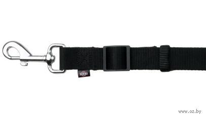 """Поводок регулируемый для собак """"Classic"""" (размер XS-S; 120-180 см; черный)"""