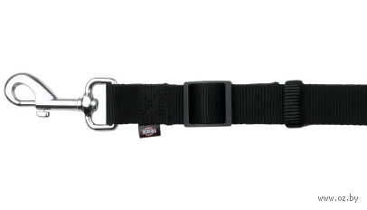 """Поводок регулируемый для собак """"Classic"""" (размер XS-S, 120-180 см, черный, арт. 14111)"""