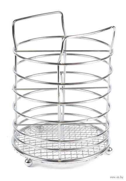 Подставка для столовых приборов металлическая (155х115 мм) — фото, картинка