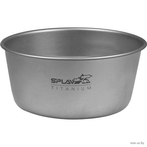 Миска титановая (550 мл) — фото, картинка