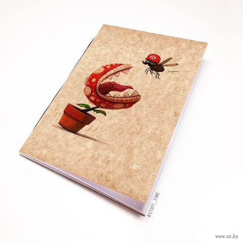 """Блокнот крафт """"Марио"""" (А5; арт. 862) — фото, картинка"""