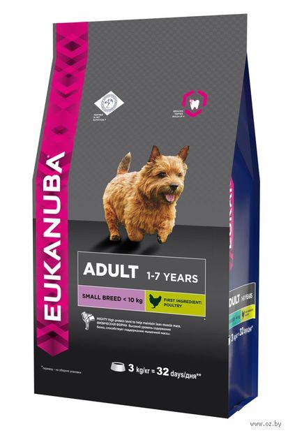 Корм eukanuba для собак мелких пород