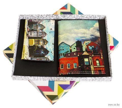 """Подарочный набор """"Рейкьявик"""" (обложка на паспорт и кредитница) — фото, картинка"""