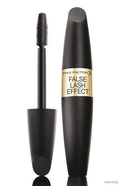 """Тушь для ресниц """"False Lash Effect"""" тон: черно-коричневый — фото, картинка"""