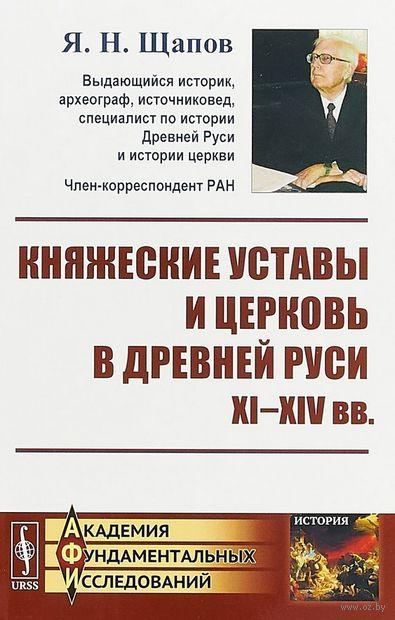 Княжеские уставы и церковь в Древней Руси XI-XIV века — фото, картинка