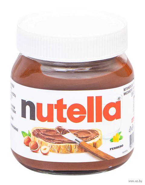 """Паста шоколадно-ореховая """"Nutella"""" (350 г) — фото, картинка"""