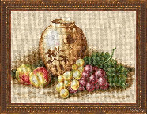 """Вышивка крестом """"Персики и виноград"""""""