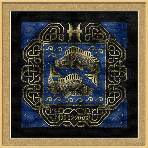 """Вышивка крестом """"Рыбы"""" (арт. 1212)"""