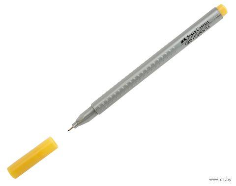 """Ручка-линер капиллярная """"GRIP FINEPEN"""" (0,4 мм; светлая охра)"""