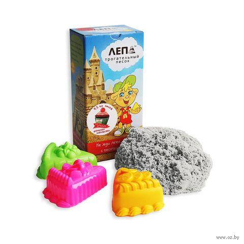 """Кинетический песок с формочками """"Пирожные"""" (нежный; 0,5 кг)"""