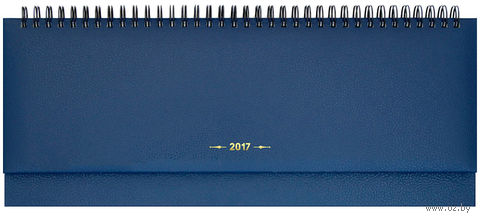 """Еженедельник-планинг датированный """"Derby"""", 2017 (64 листа; синий)"""