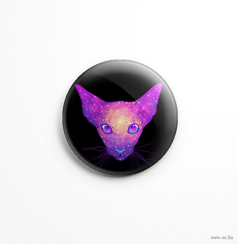 "Значок маленький ""Кот"" (арт. 363) — фото, картинка"