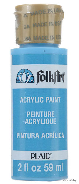"Краска акриловая ""FolkArt. Acrylic Paint"" (океанский круиз; 59 мл; арт. PLD-02225) — фото, картинка"