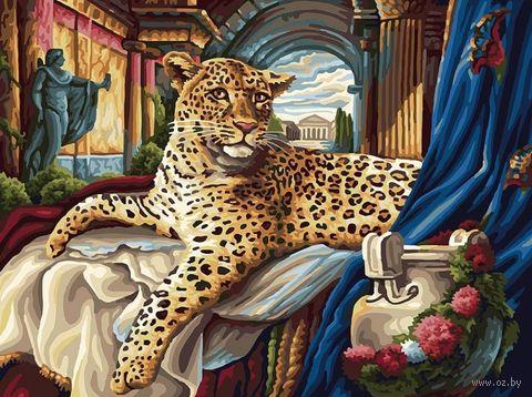 "Картина по номерам ""Римский леопард"" (300х400 мм) — фото, картинка"