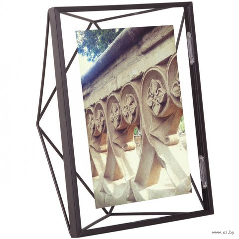 """Рамка металлическая """"Prisma"""" (13х18 см; черная) — фото, картинка"""
