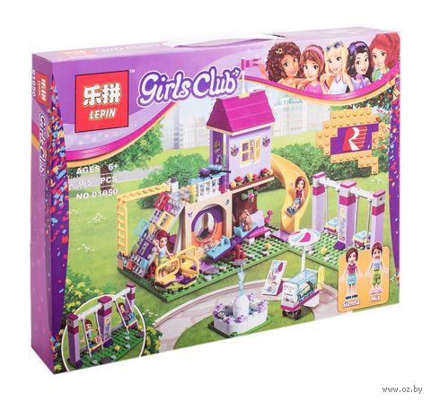"Конструктор Girls Club ""Игровая площадка Хартлейк Сити"" — фото, картинка"