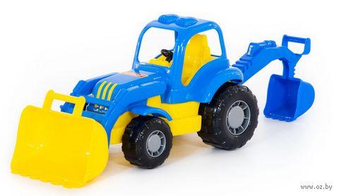 "Трактор-экскаватор ""Крепыш"" — фото, картинка"