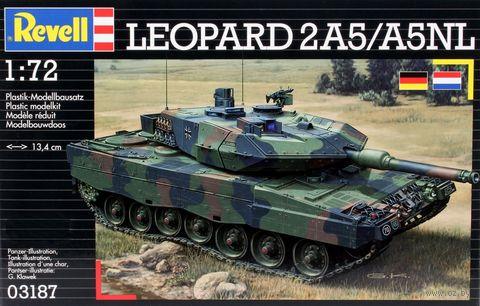 """Сборная модель """"Немецкий танк Leopard 2А5/А5NL"""" (1:72) — фото, картинка"""