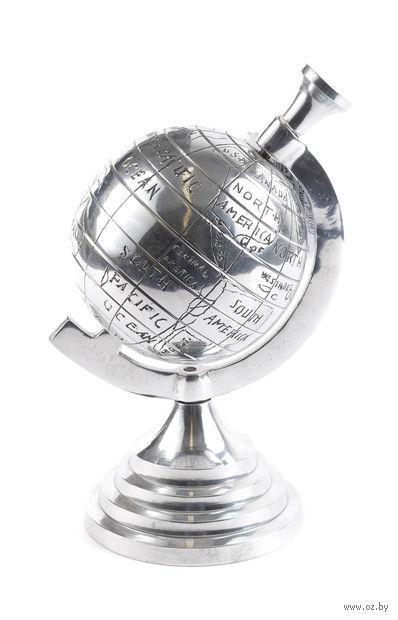 """Статуэтка металлическая """"Глобус"""" (21 см, арт. A04990290)"""