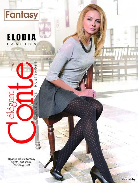 """Колготки женские фантазийные """"Conte. Elodia"""""""