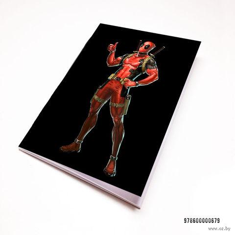 """Блокнот """"Дэдпул"""" (А7; арт. 679) — фото, картинка"""