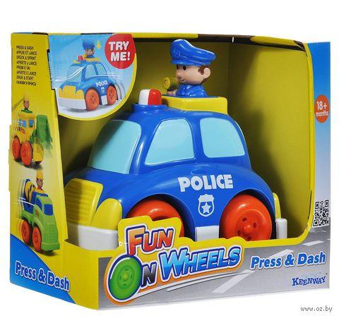 Полицейская машина инерционная (арт. 32622)