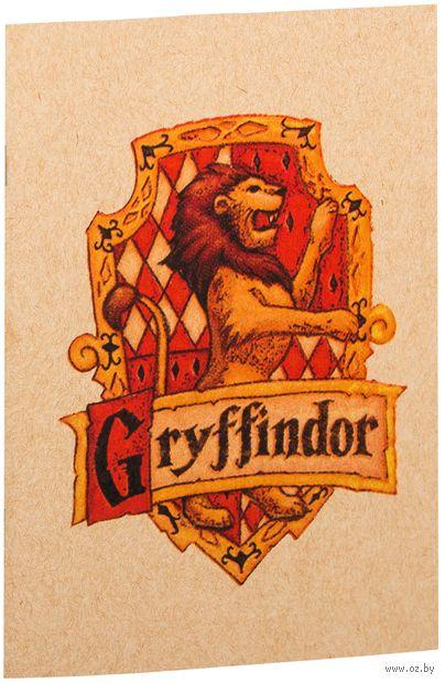 """Блокнот крафт """"Гарри Поттер. Гриффиндор"""" А5 (870)"""