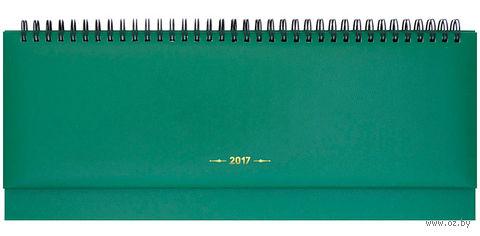 """Еженедельник-планинг датированный """"Ariane"""", 2017 (64 листа; зеленый)"""