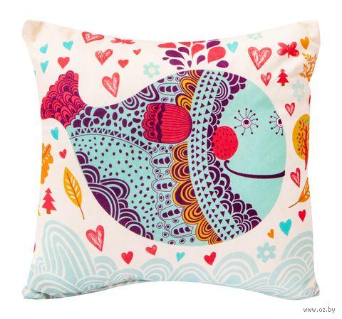 "Подушка ""Волшебная рыба"" (35x35 см; арт. 08-958) — фото, картинка"
