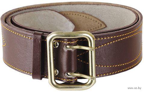 Ремень кожаный (115 см; коричневый) — фото, картинка