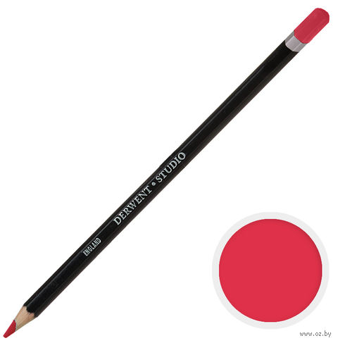 Карандаш цветной Studio 21 (розово-мареновый лак)