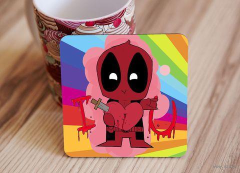 "Подставка под кружку ""Deadpool"" (art.6)"