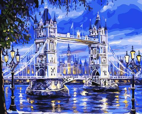 """Картина по номерам """"Тауэрский мост"""" (400х500 мм) — фото, картинка"""