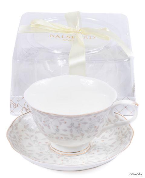 Чашка с блюдцем (арт. 108-04084) — фото, картинка