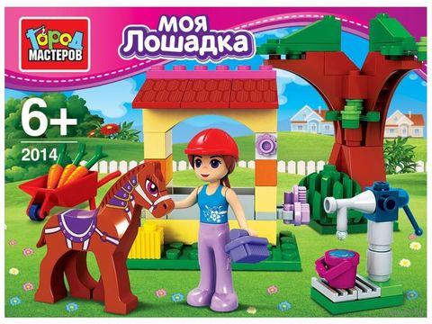 """Конструктор """"Моя лошадка"""" (79 деталей) — фото, картинка"""