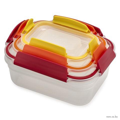 """Набор контейнеров для еды """"Nest Lock"""" (3 шт.; арт. 81082) — фото, картинка"""