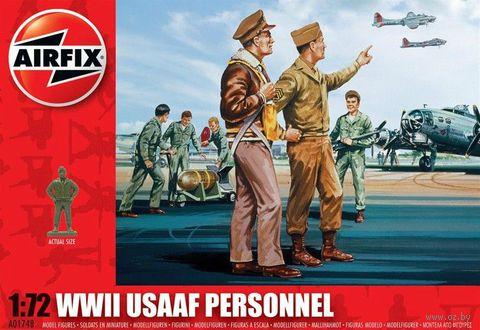"Набор миниатюр ""Персонал ВВС США"" (масштаб: 1/72) — фото, картинка"