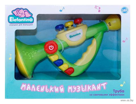 """Развивающая игрушка """"Музыкальная труба. Elefantino"""""""